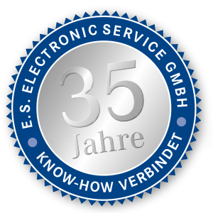 Electronic Service 35 Jahre Logo